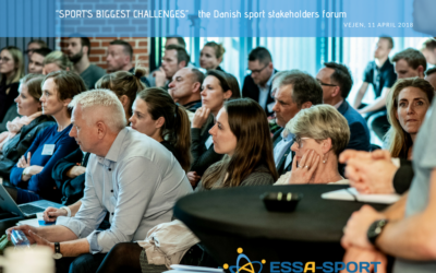 ESSA-Sport presented at the Danish National Sport Conference in Vejen