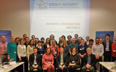 ESSA-Sport 3rd National Coordinators Meeting